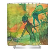 Hunt And Gather Shower Curtain