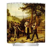 Hunt Charles The Peace Maker Shower Curtain
