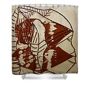 Hunter - Tile Shower Curtain