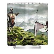 Hunter - Hound Shower Curtain