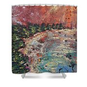 Huntington Lake Shower Curtain