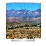 Hurricane Utah And Red Cliffs Nca Shower Curtain