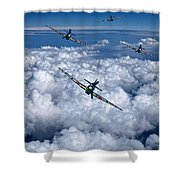 Hurricanes On Your Tail Shower Curtain