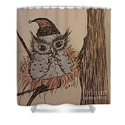 Hush Now Little One Shower Curtain