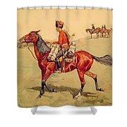 Hussar Russian Guard Corps Shower Curtain