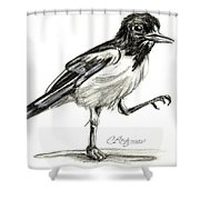 Hut Two Three Four Shower Curtain