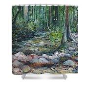 Hutan Perdic Forest Malaysia 2016 Shower Curtain