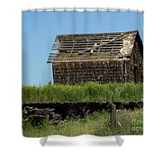 Hwy 2-3268 Shower Curtain