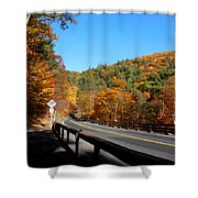 Hwy 23a 4 Shower Curtain