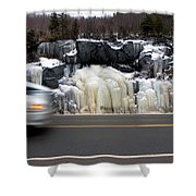 Hwy Ice   Shower Curtain