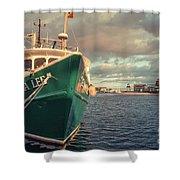 Hyannis Harbor Cape Cod Massachusetts Shower Curtain