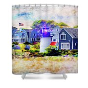Hyannis Lighthouse Shower Curtain