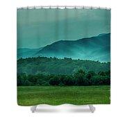 Hyatt Lane View Shower Curtain