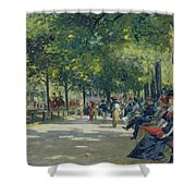 Hyde Park - London  Shower Curtain
