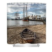 Hyde St.pier, San Francisco Shower Curtain