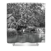 Hyde's Mill Shower Curtain