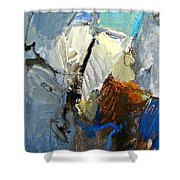 Hydra- Igneous Flame  Shower Curtain by Cliff Spohn