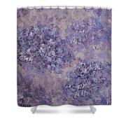 Hydrangea Blossom Abstract 2 Shower Curtain