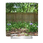 Hydrangea Bushes Shower Curtain
