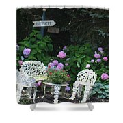 Hydrangea Glory Shower Curtain