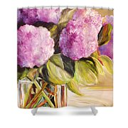 Hydrangea Heaven Shower Curtain