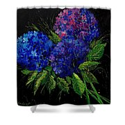 Hydrangeas 66 Shower Curtain
