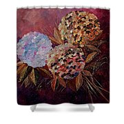 Hydrangeas 880130 Shower Curtain