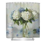 Hydrangeas For Susan Shower Curtain
