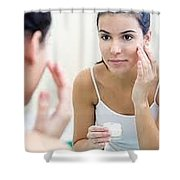 Hydrated For Skin That Is Healthier Shower Curtain