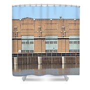 Hydro Electric Power  Shower Curtain