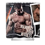 Hydro Muscle Max Shower Curtain