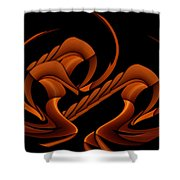Hyper Sphinx Shower Curtain