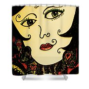 Hypnotic Beauty Shower Curtain