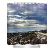 I-8 Highway Shower Curtain