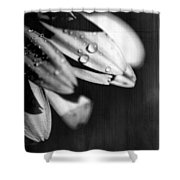 I Am Barely Breathing Shower Curtain by Laurie Search