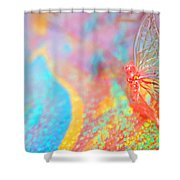 I Am Butterfly V2 Shower Curtain