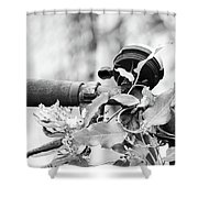 I Am Eager To Be Heard. Shower Curtain