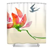 i Am Flying To You Shower Curtain