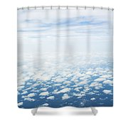I Am From Above Shower Curtain