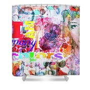 I Am Many Colors Shower Curtain