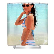 I Am Not Gone Shower Curtain