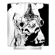 I Am Rhino Shower Curtain