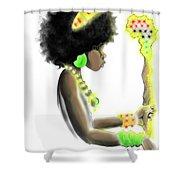 I Am Royalty Shower Curtain