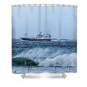 I Am Sailing Shower Curtain