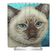 I Am Siamese If You Please Shower Curtain