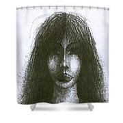 I Am Such Lonely  Shower Curtain
