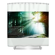 I Am The Bread Of Life Shower Curtain