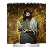 I Am Watching To See That My Words Come True Shower Curtain