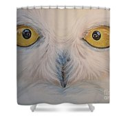 I Am Watching You Shower Curtain