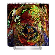 I Am Women  Shower Curtain by Joseph Mosley